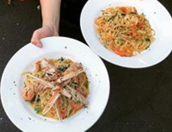 Traditional Italian dining